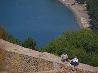 Macedonia, Ohrid – two men, 2011
