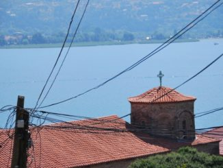 Macedonia, Ohrid – church, 2011