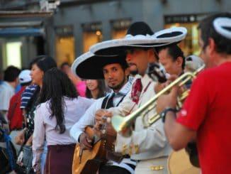 Crowded Puerta del Sol