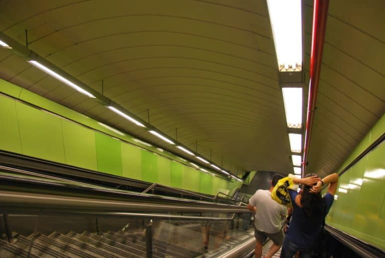 Metropolitana moderna