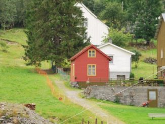 Norway, Sognefjord – red house, 2009
