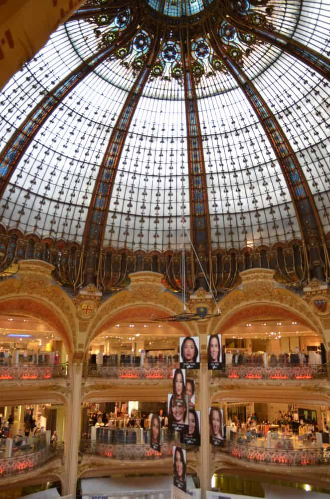 Coming back to Galeries Lafayette