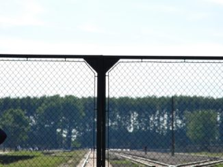 Poland, Birkenau – railway, May 2009