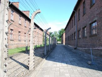 Poland, Auschwitz – buildings, May 2009