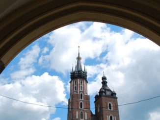 Poland, Krakow – St.Mary's Church, May 2009