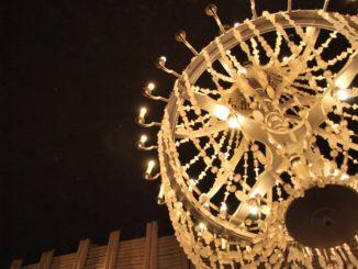 Poland, Wieliczka – chandelier, May 2009