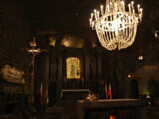 Poland, Wieliczka – altar, May 2009
