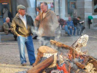 Portugal, Evora – bonfire, 2011