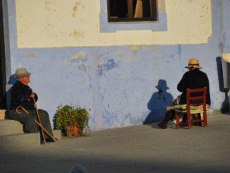 Portugal, Arriolos – old people, 2011