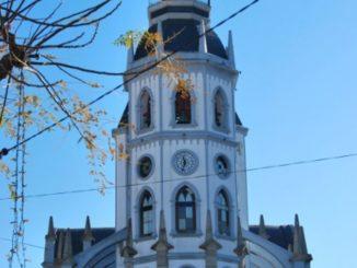 Portugal, Reguengos – church, 2011