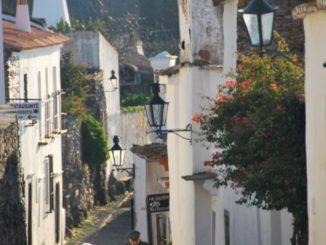 Portugal, Monsaraz – village street, 2011