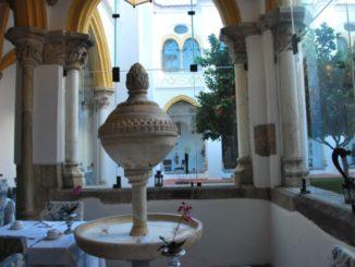 Portugal, Evora – fountain, 2011