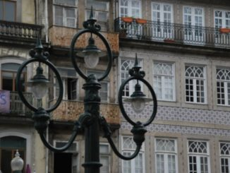 Portugal, Oporto – another lamp, 2009