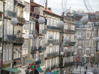 Portugal, Oporto – X'mas decoration, 2009