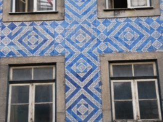 Portugal, Oporto – tiled wall, 2009