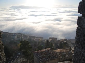 San Marino – field of clouds, 2010