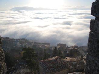 San Marino – field of clouds, 2010