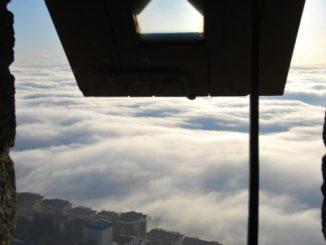 San Marino – clouds below, 2010