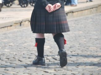 How about men in kilt?
