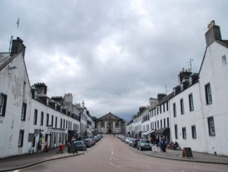 Scotland, Inveraray – symmetry, 2010