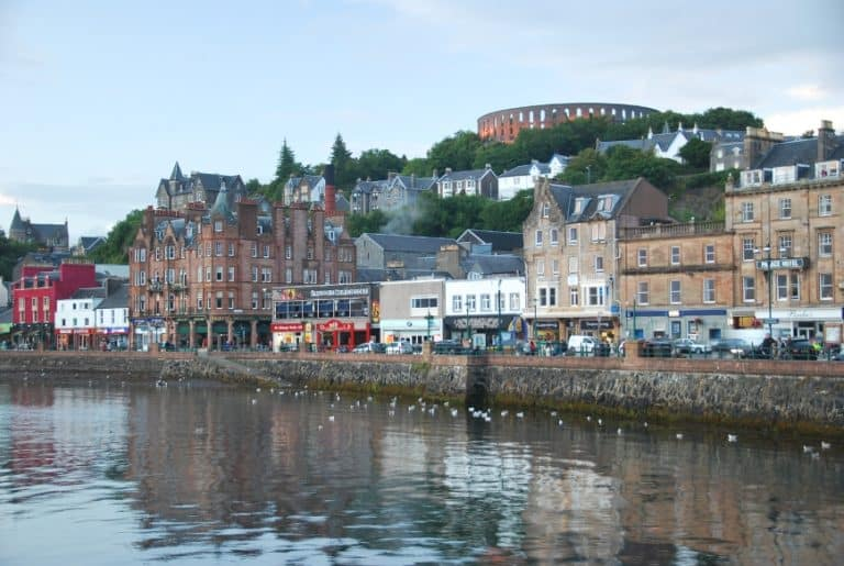 The Seafoods in Oban were excellent!