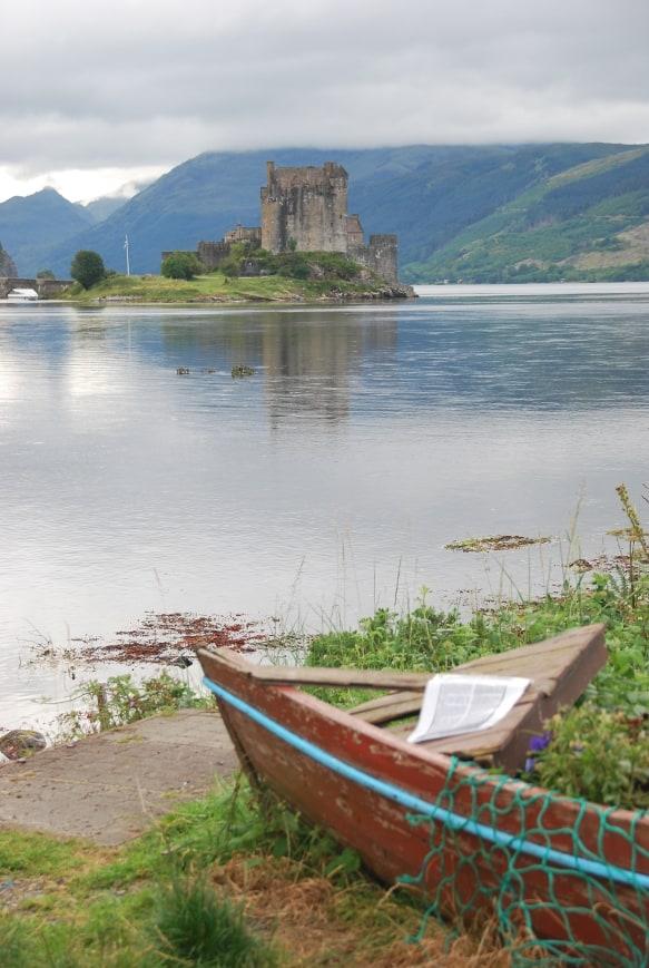 Comunque bello il castello di Eilean Donan in Scozia