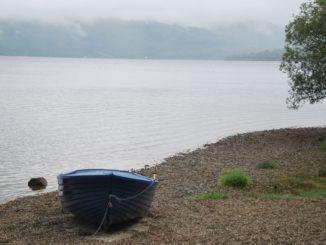 La triste canzone di Loch Lomond in Scozia