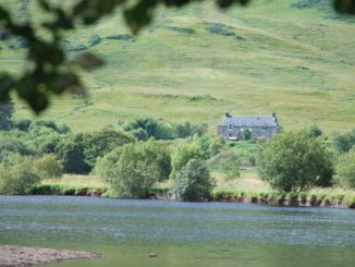 Scotland, Highland – house across the water 2010