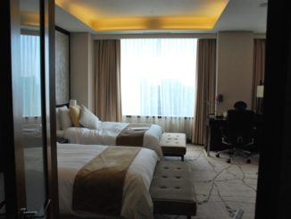 South Korea, Seoul – hotel room, 2011