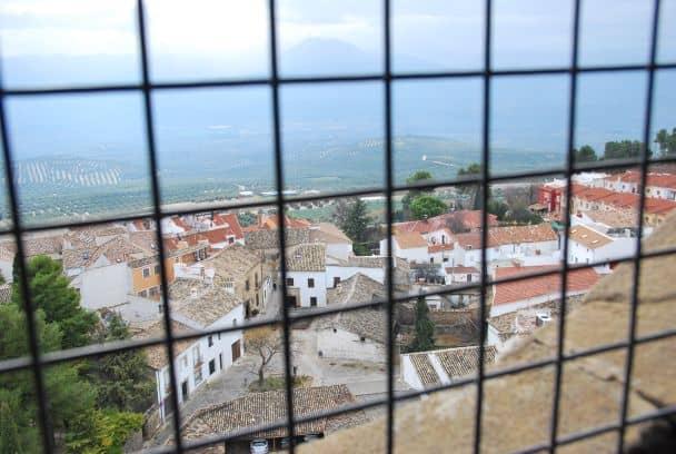 Il panorama dalla cattedrale di Baeza