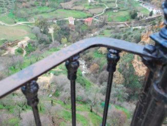 Spain, Ronda – balcony, Dec.2010