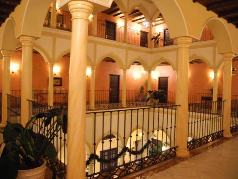 セビリアで最初のホテル