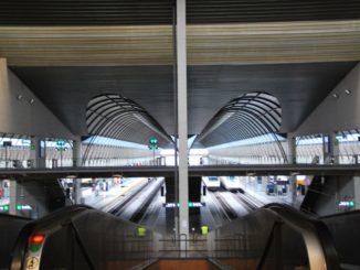 Very modern station in Seville