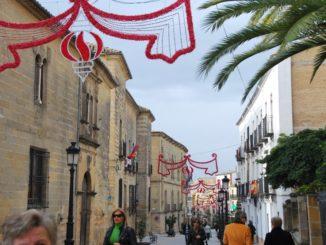 スペイン、ウベダ-クリスマス 2010年12月