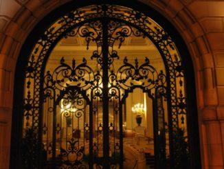 Spain, Madrid – gorgeous entrance, July 2012