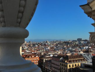 Spain, Madrid – view from top, July 2012