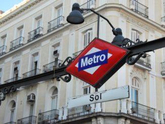 Spain, Madrid – Metro sign, July 2012