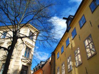 Sweden, Stockholm – at the corner, 2011