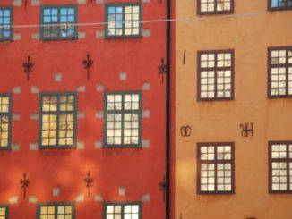 Glittering windows