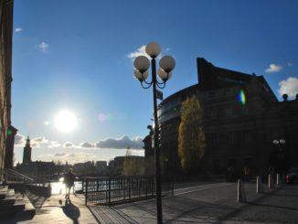 Sweden, Stockholm – the sun, 2011