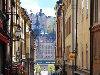 Sweden, Stockholm – old town, 2011