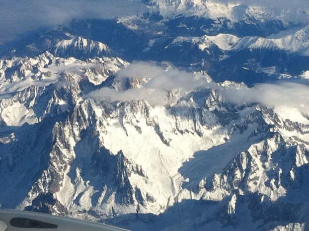 Sopra le Alpi Svizzere