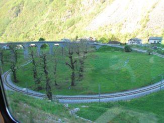 Switzerland, Bernina Express – circle, May 2012