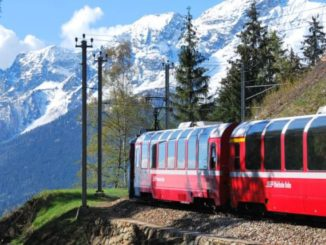 The train listed as a World Heritage