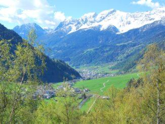 Switzerland, Bernina Express – horizontal view, May 2012