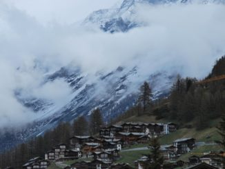 Switzerland, Zermatt – clouds, May 2012