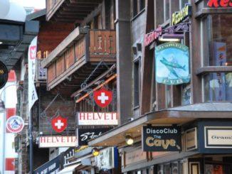 Switzerland, Zermatt – wooden houses, 2012