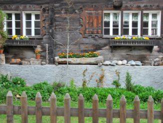 Switzerland, Zermatt – traditional house, May 2012