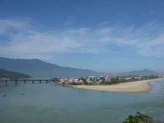 On the way to Hue
