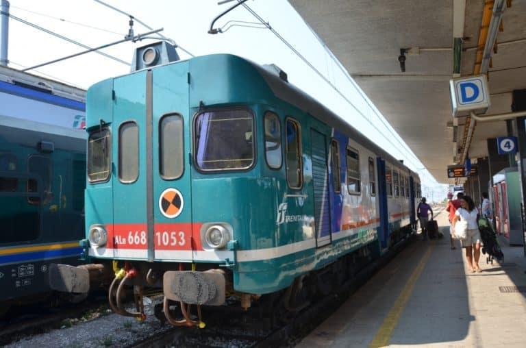 Viaggiare con il treno